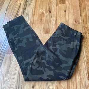 Gap camouflage women's pants